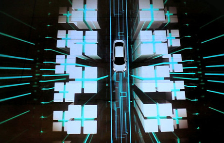 Hyundai Accent 3D Projection Mapping Event - The FWA