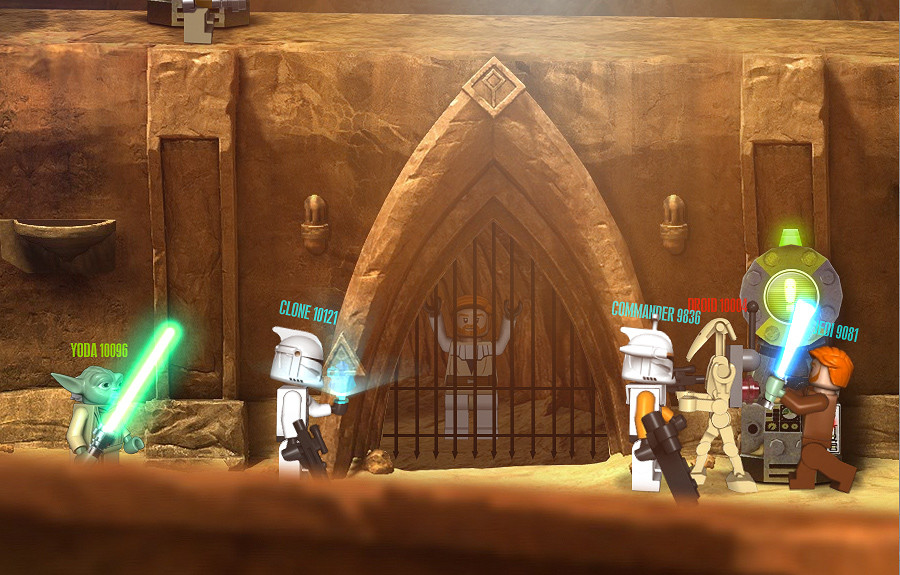 LEGO Star Wars III Website - The FWA