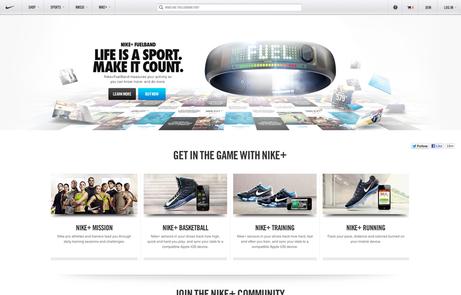 Expansión cocinar una comida Sobrio  Nike.com - The FWA