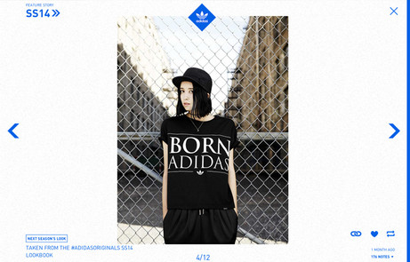 Adidas Originals Tumblr blog The FWA