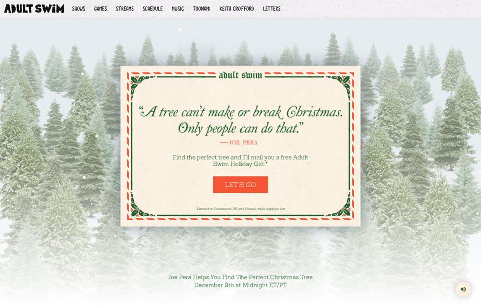 Joe Pera\'s Perfect Tree Finder - The FWA