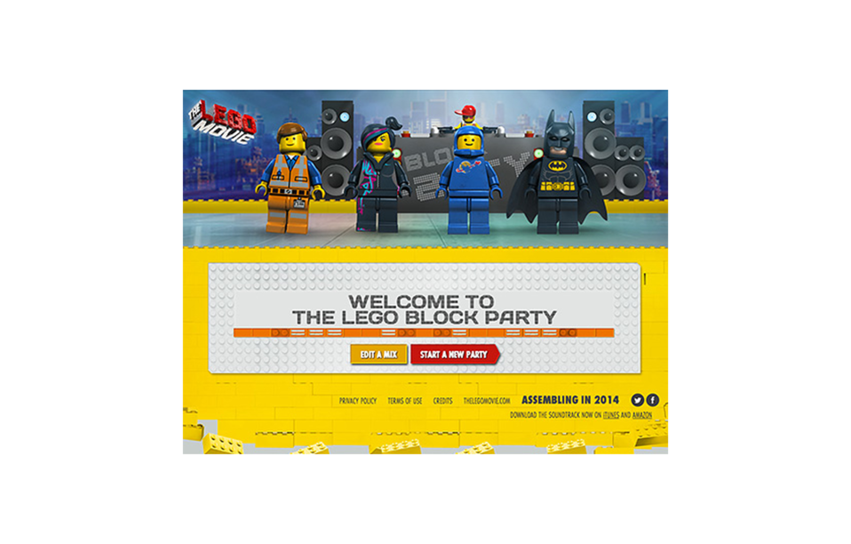 The Lego Movie Music Maker - The FWA
