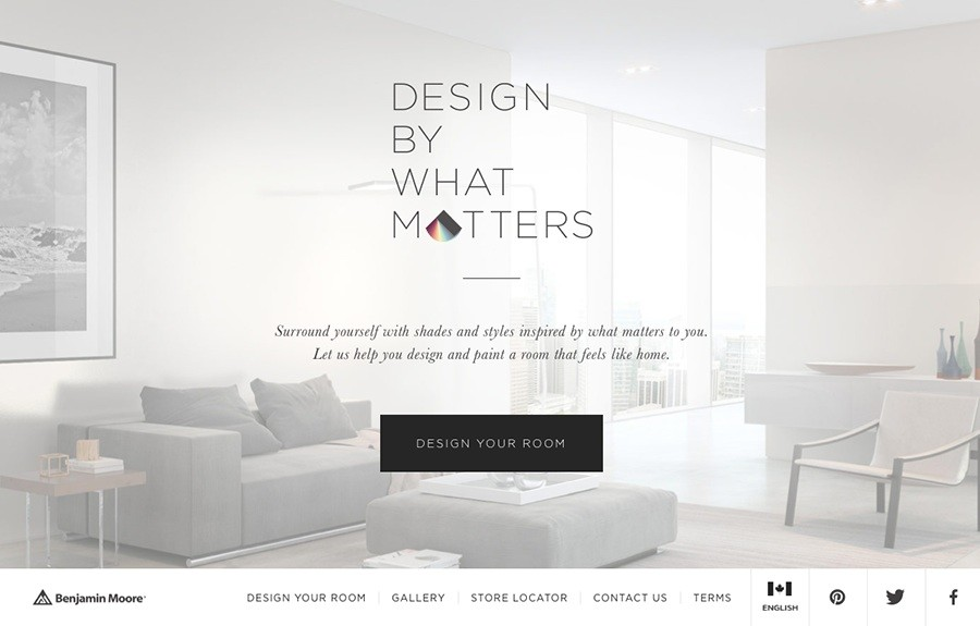 Benjamin Moore: Design By What Matters