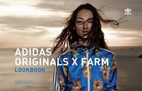 adidas Originals X Farm Lookbook The FWA