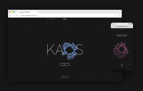 KAOS Logo Generator - The FWA