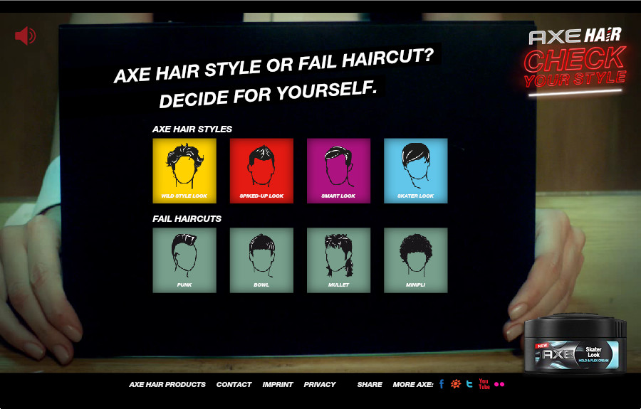AXE HAIR - Check your Style - The FWA