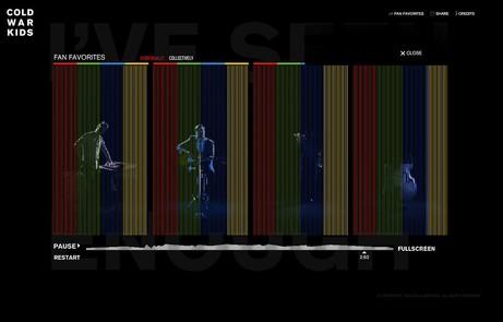 Cold War Kids Interactive Video - The FWA
