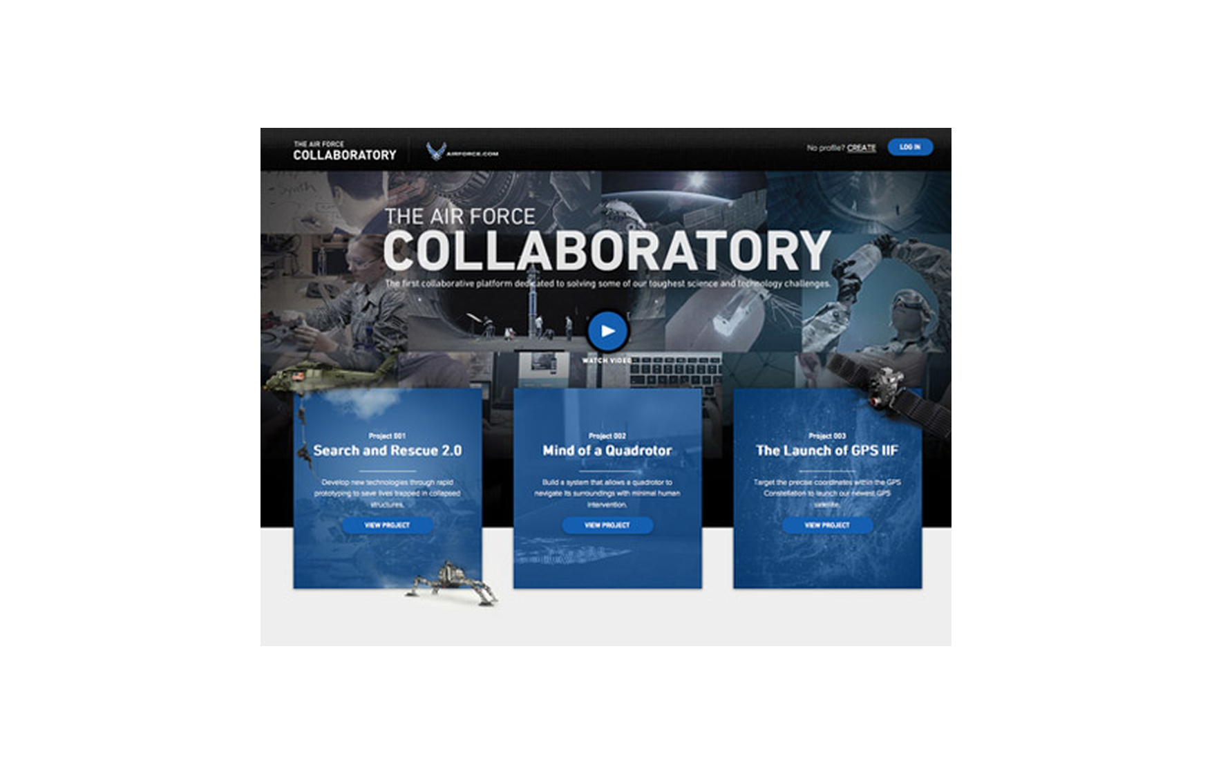 The Air Force Collaboratory - The FWA