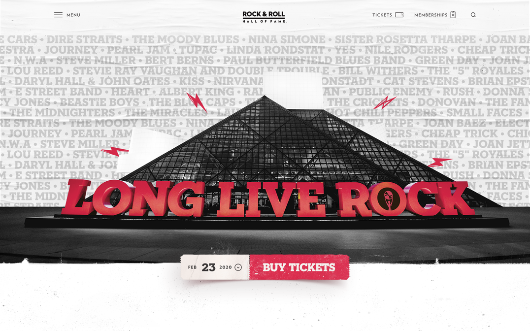 Rock & Roll Hall of Fame: RockHall.com - The FWA