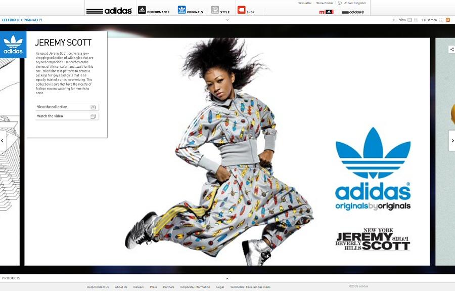 site adidas