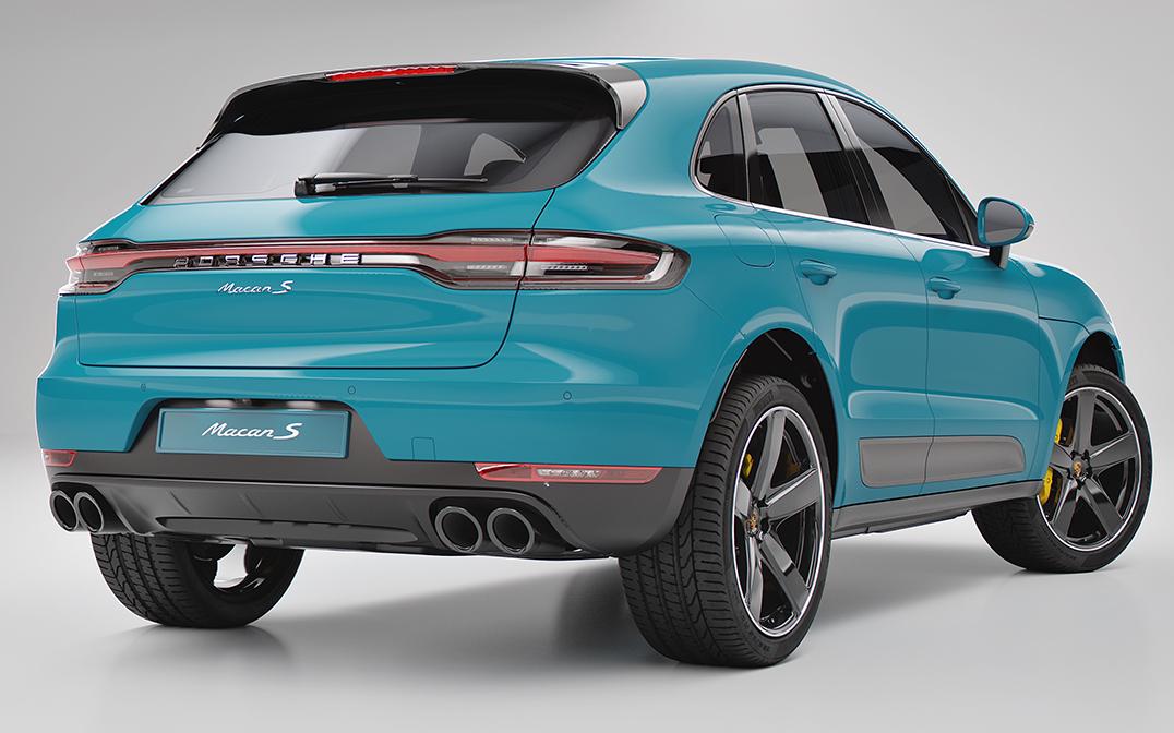 Porsche Macan AR Billboards + Social - The FWA