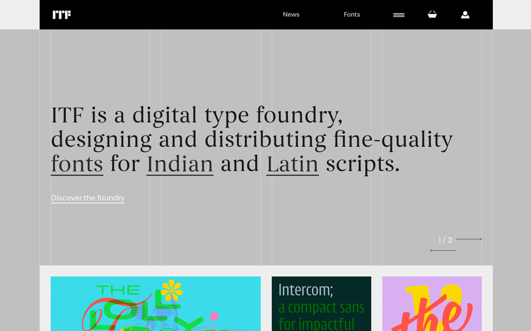 Indian Type Foundry - The FWA