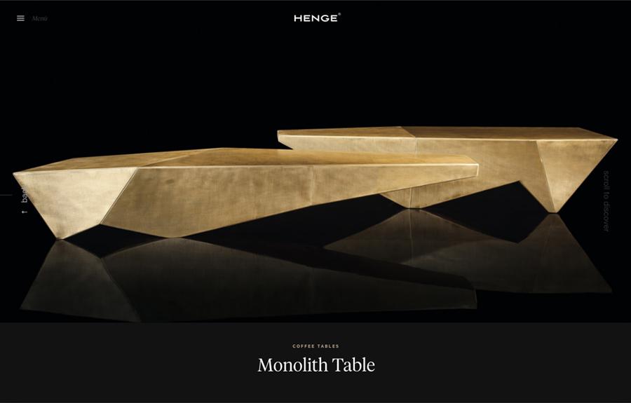 Henge - design furniture - The FWA